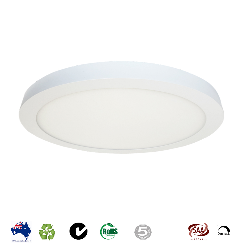 38W Round Surface Mount LED Ceiling Light 500mm   Lighting U0026 Electrical  Wholesaler